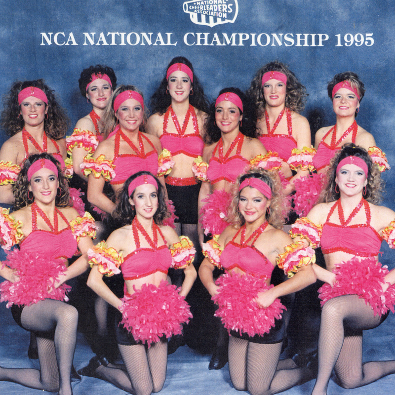 Sparkettes at National Cheerleading Association National Championship, 1995