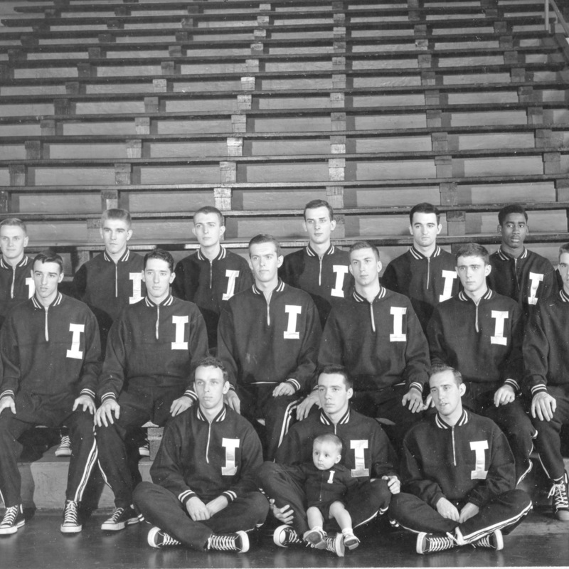 Mens basketball team 1950