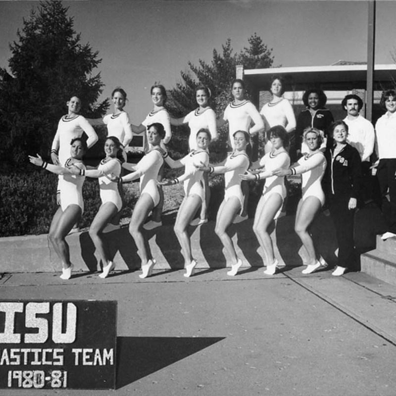 ISU gymnastics team