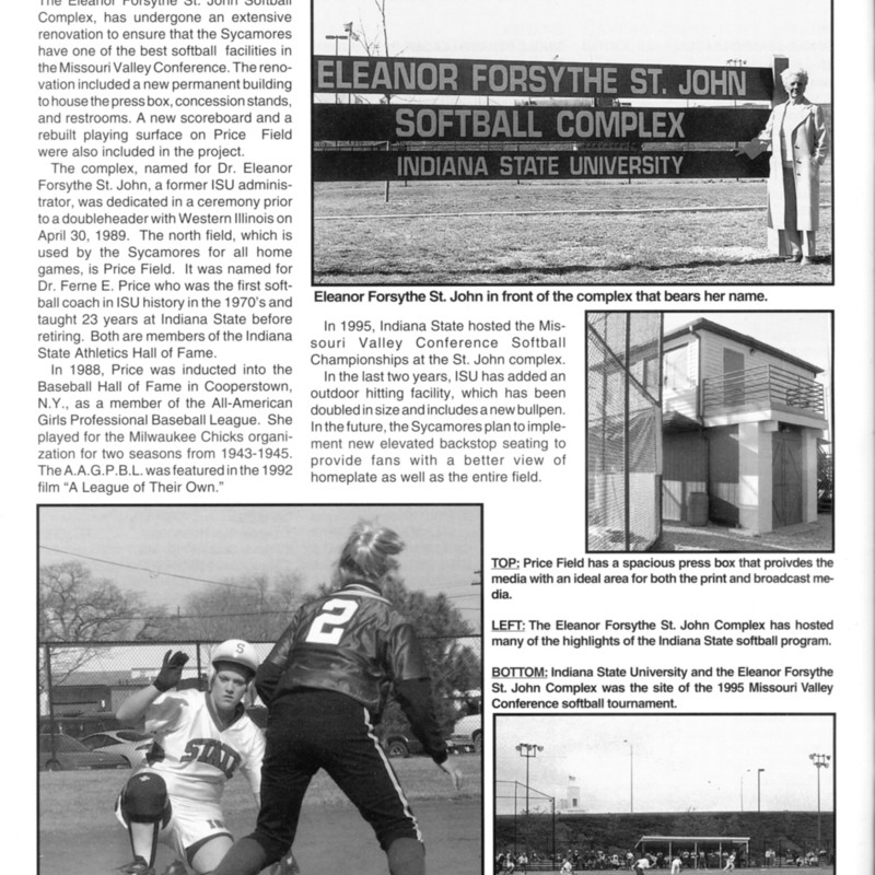 Forsythe St John Softball Complex