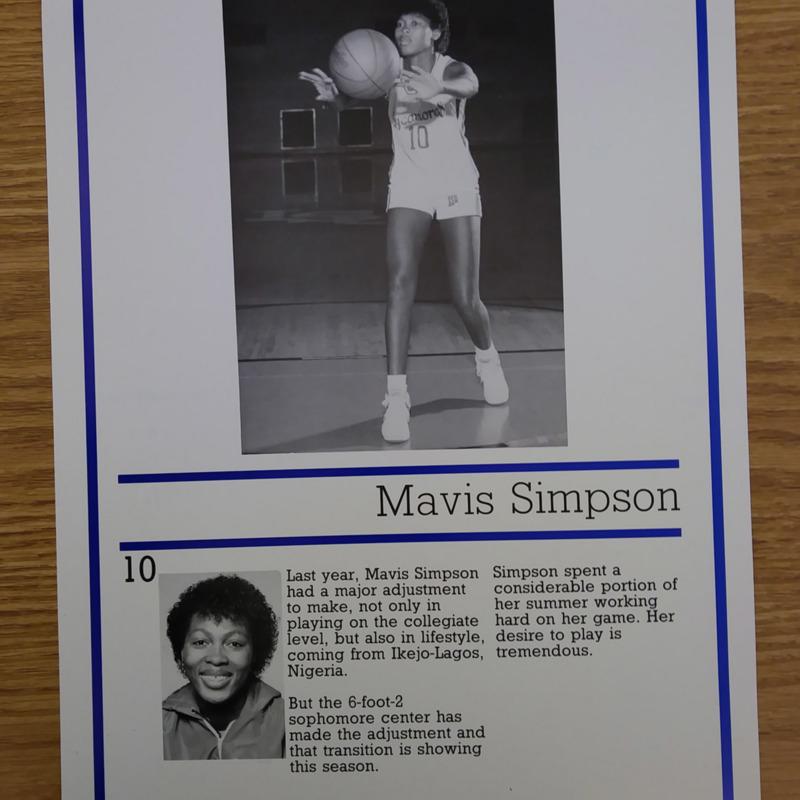 Mavis Simpson Poster
