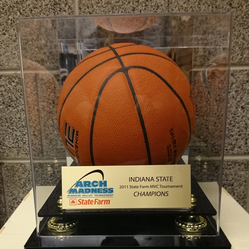 MVC Basketball Tournament Trophy