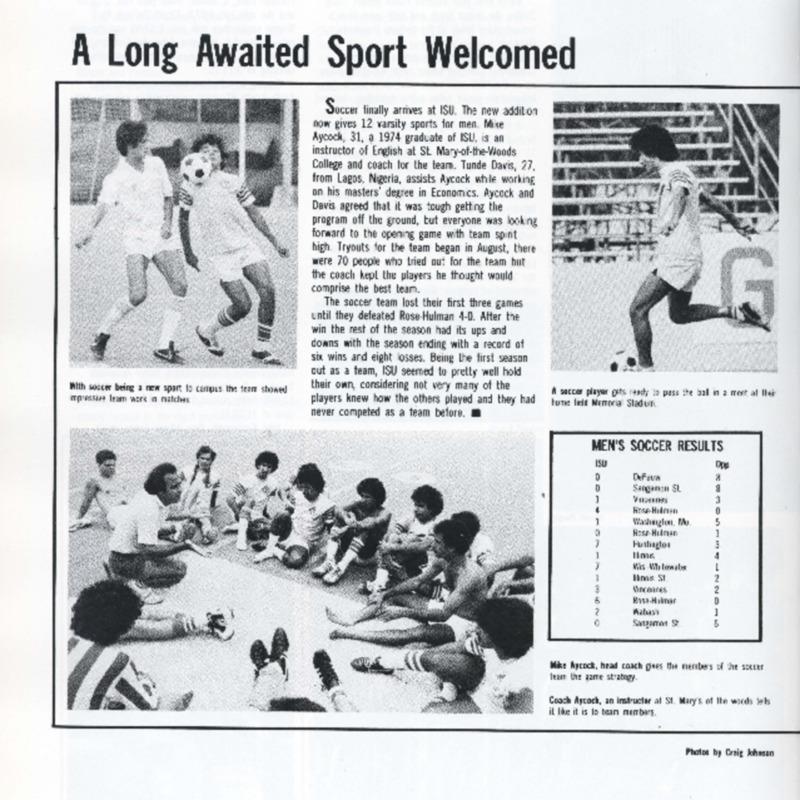 Sycamore Men's Soccer