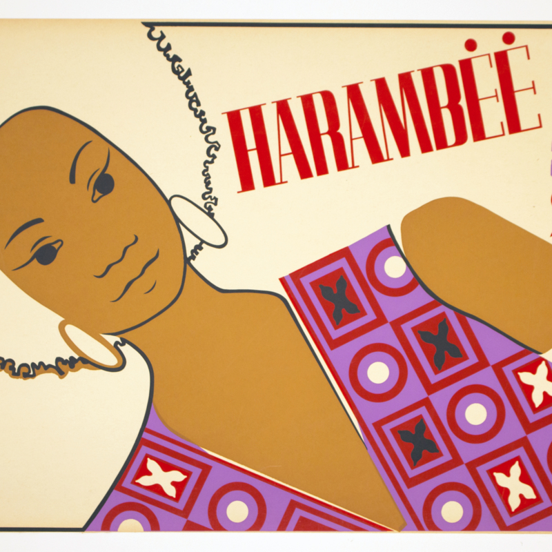 unkown artist - Harambee poster.jpg