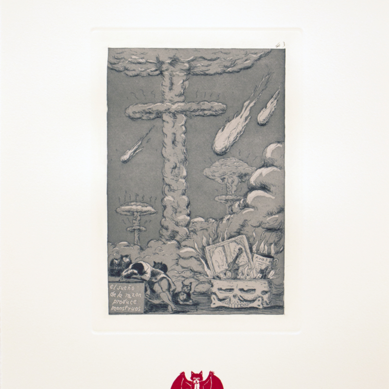 Enrique Chagoya - Recurrent Goya batcat.jpg