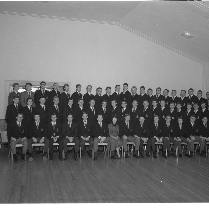 Alpha Tau Omega group photo, 1965