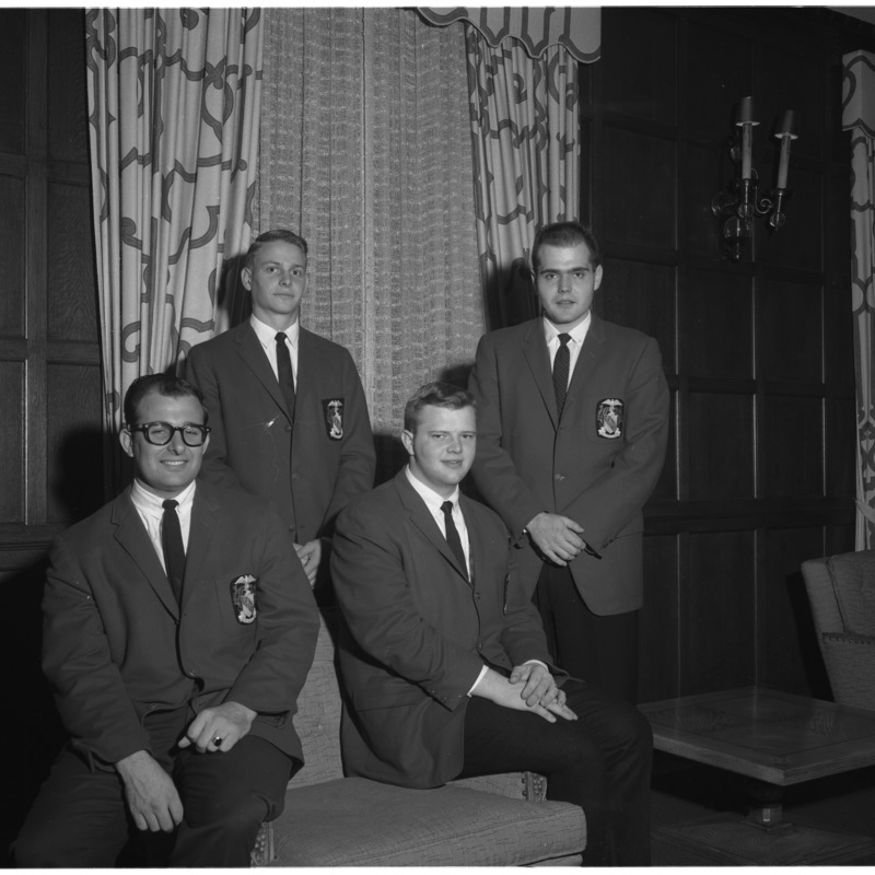 Theta Chi officers, 1961