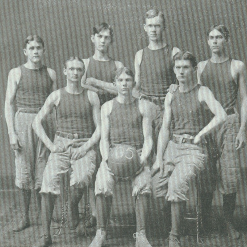 freshman basket ball team-1902 copy.tif
