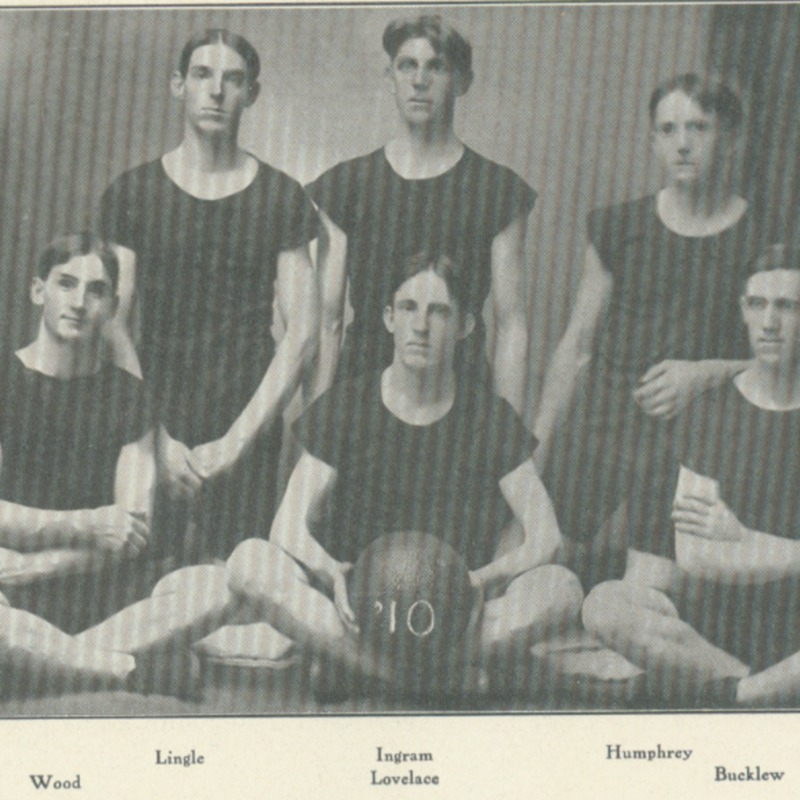 freshman basket ball team-1907 copy.tif