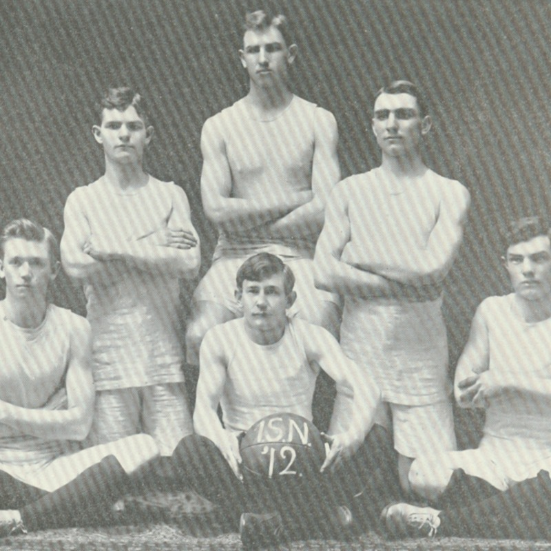 freshman basket ball team-1909 copy.tif