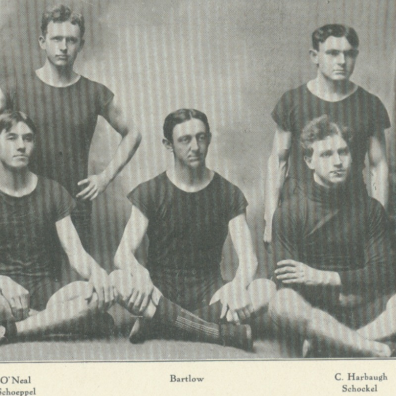 sophomore basket ball team-1907 copy.tif