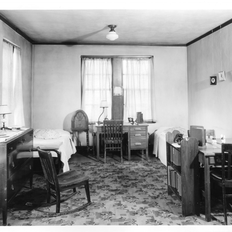 Women's Residence Hall room