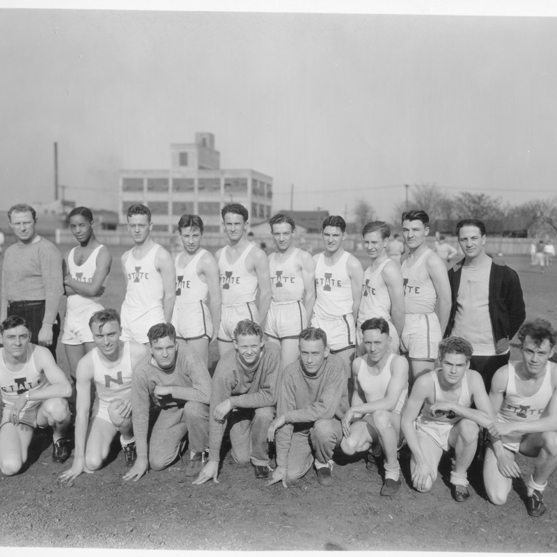 Track and Field team photo, 1931