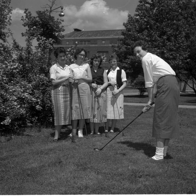 Women's golf, 1959