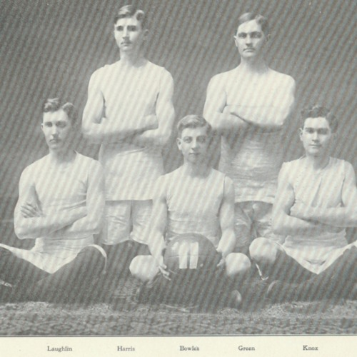 sophomore basket ball team-1909.tif