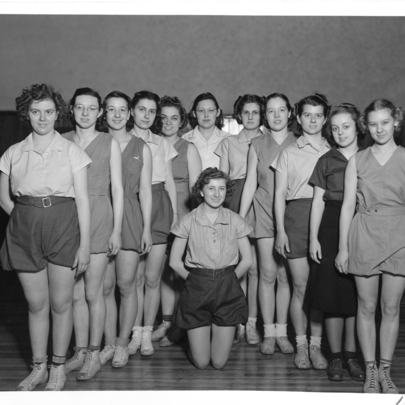Women's Athletic Association Dance club, 1939