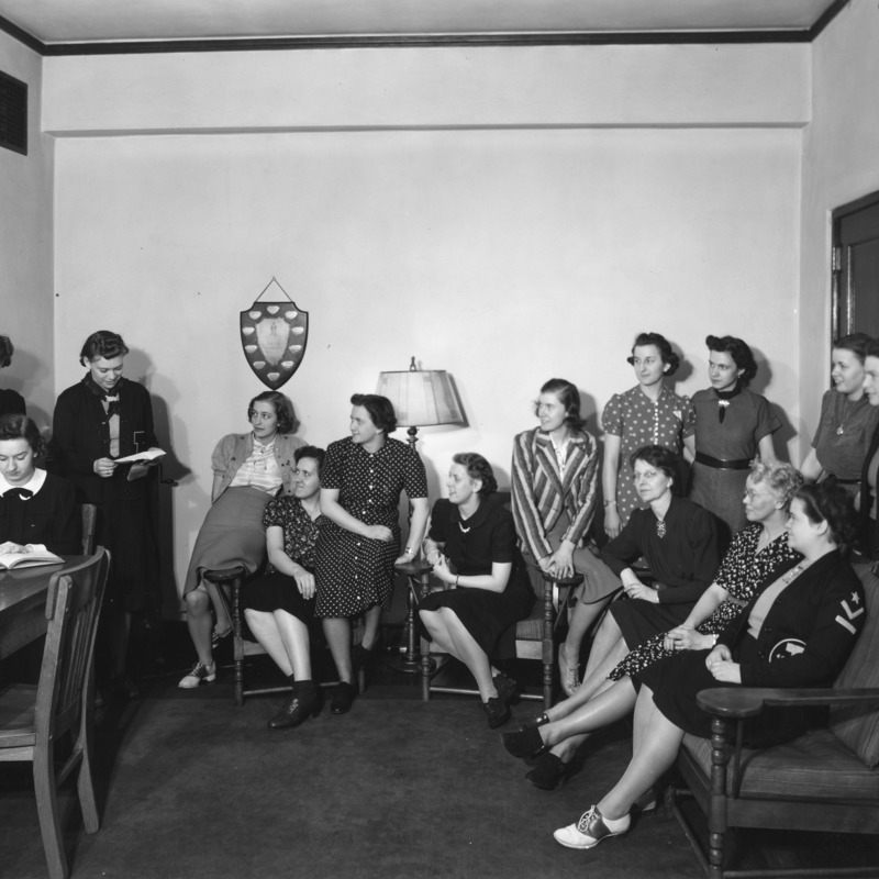 Women's Athletic Association Group Council, 1939