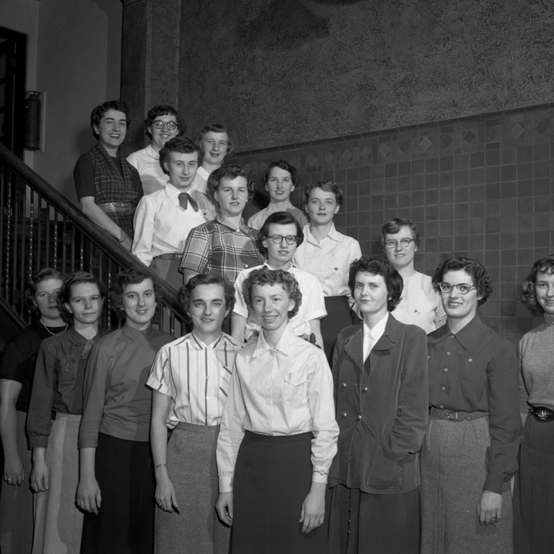 Women's Athletic Association Council, 1953